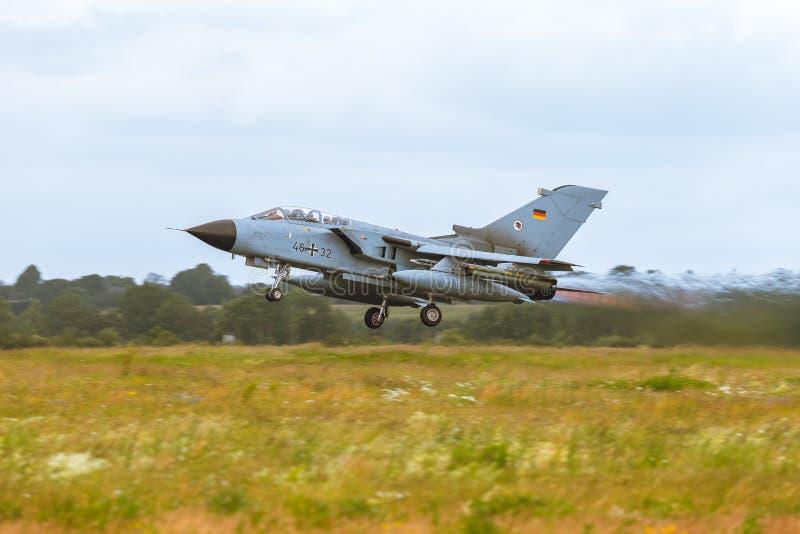 Panavia tromb på NATO Tiger Meet 2014 royaltyfri fotografi