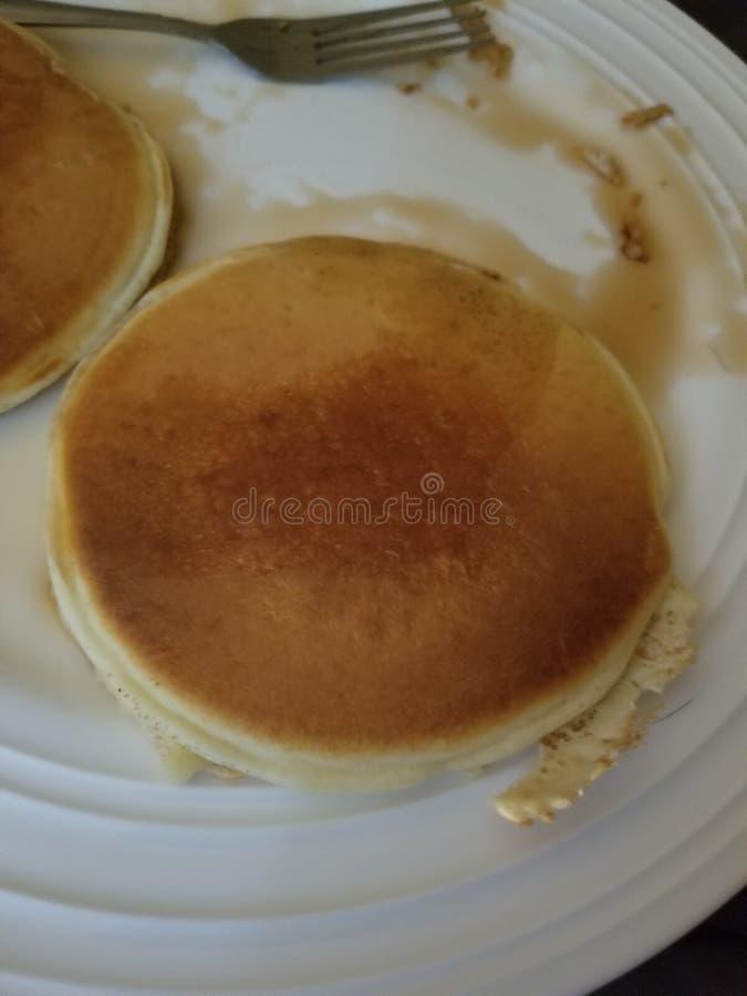 pancake fotografia stock libera da diritti