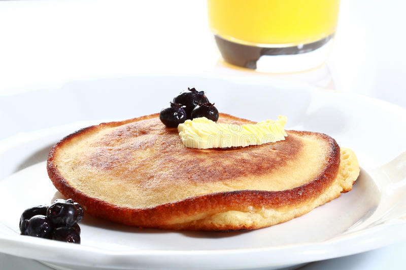 Download Pancake stock image. Image of meal, blue, color, butter - 13102283