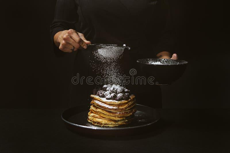 pancake fotos de stock