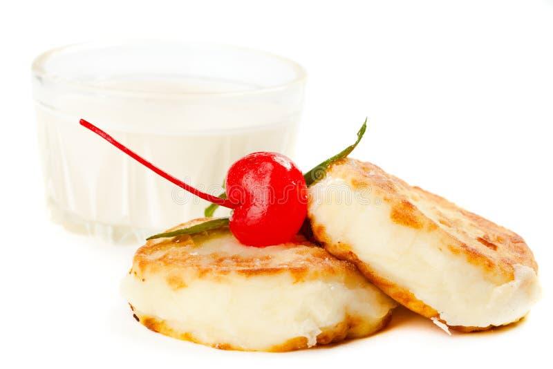Pancake con la ciliegia