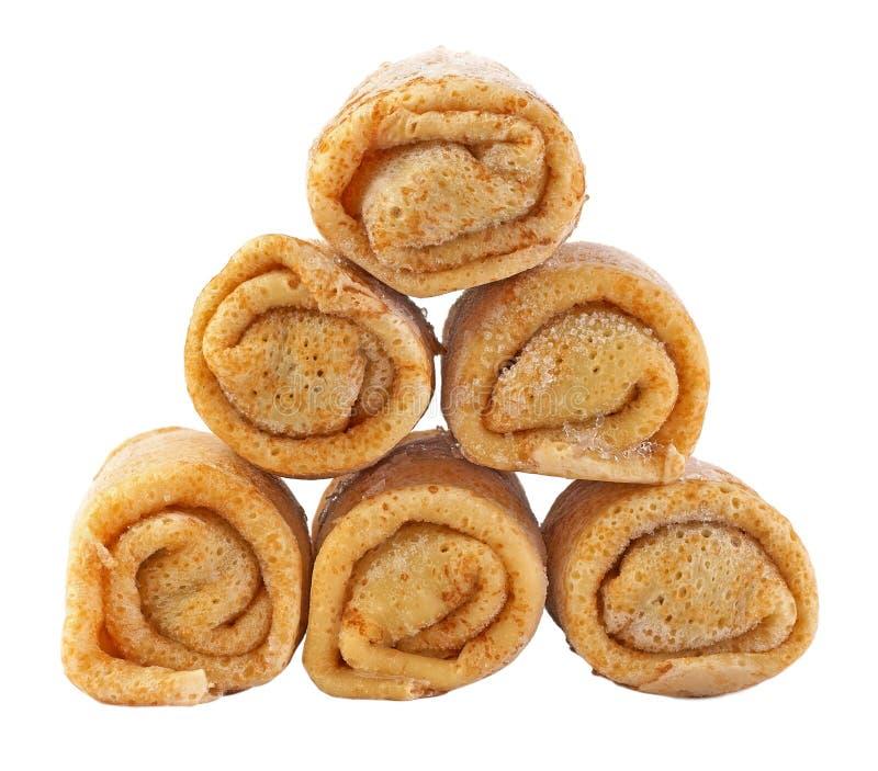 Pancake congelati immagini stock