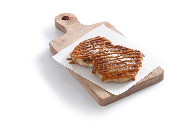 Pancake coreano immagini stock