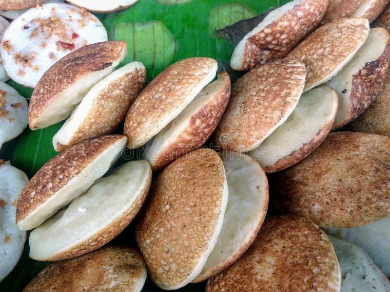 Pancake de Arroz Fresco fotografia de stock