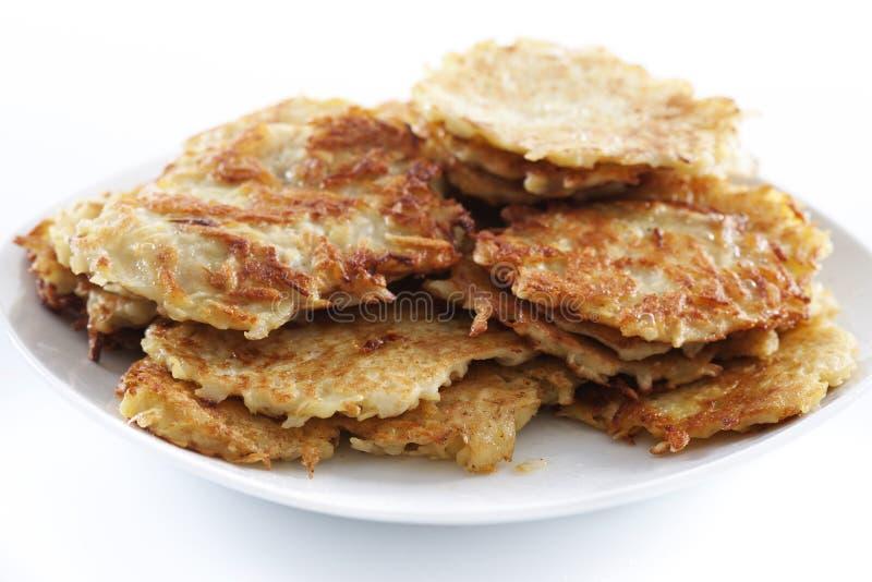 Pancake di patata immagine stock libera da diritti