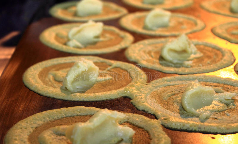 Pancake di Tokyo fotografie stock libere da diritti