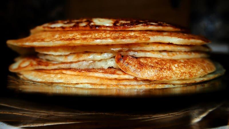 Pancake russi immagine stock libera da diritti