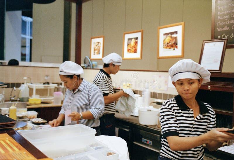 Pancake staff royalty free stock photography
