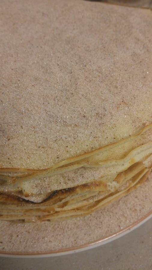 Pancake tower royalty free stock photo
