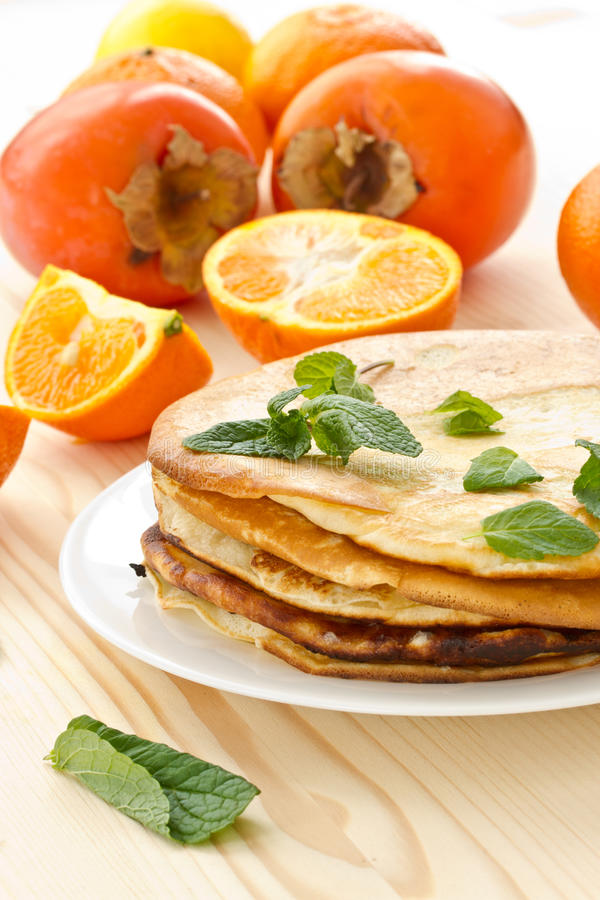 Download Pancakes stock photo. Image of oranges, mountain, homemade - 28893274