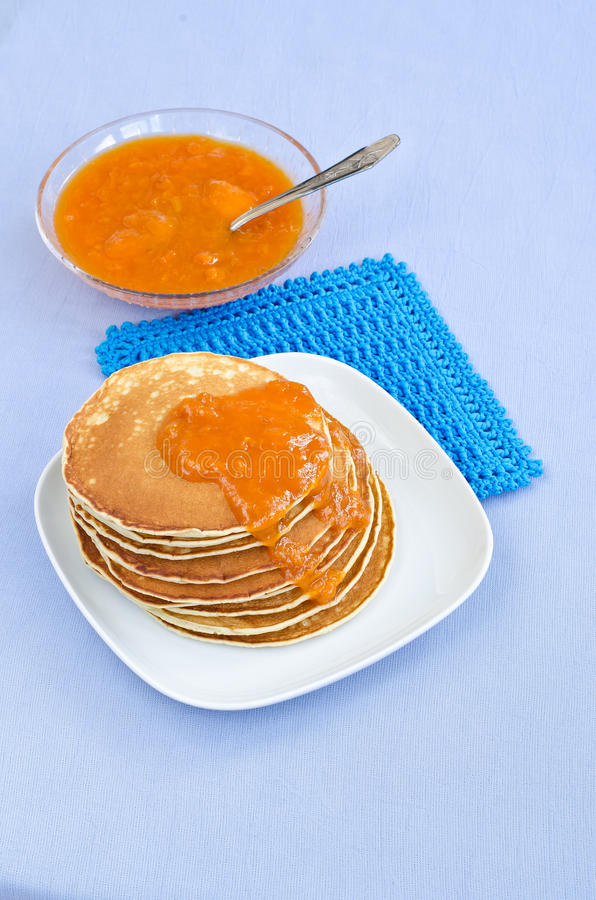 Download Pancakes stock image. Image of freshness, blue, pancake - 36580869