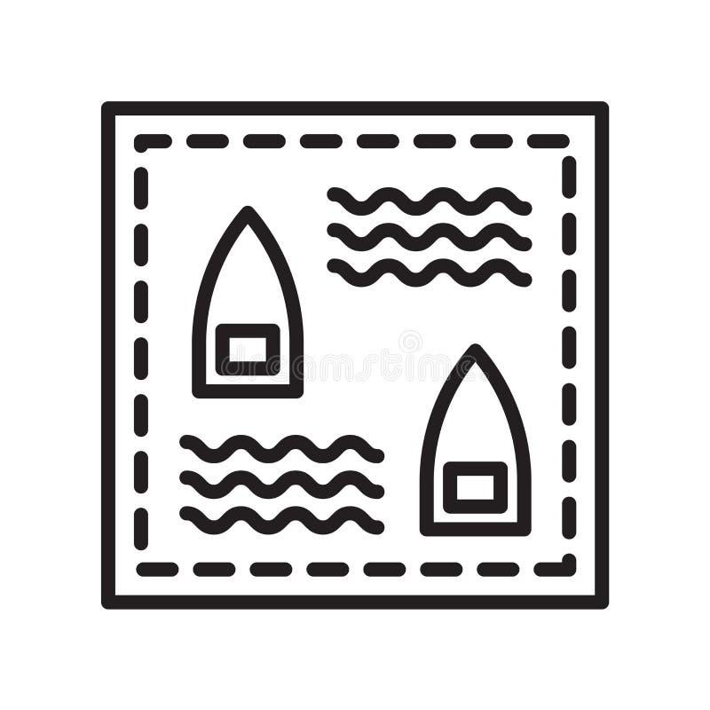 Pancernik ikony wektoru znak i symbol odizolowywający na białym backgro ilustracja wektor