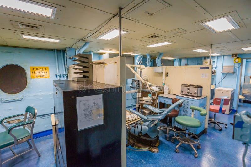 Pancernika dentysty pokój obraz royalty free