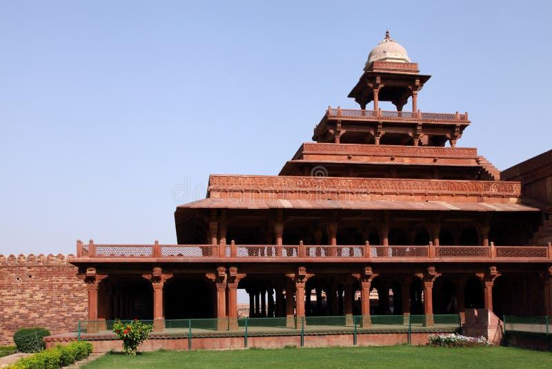 Panch Mahal em Fatehpur Sikri fotos de stock royalty free