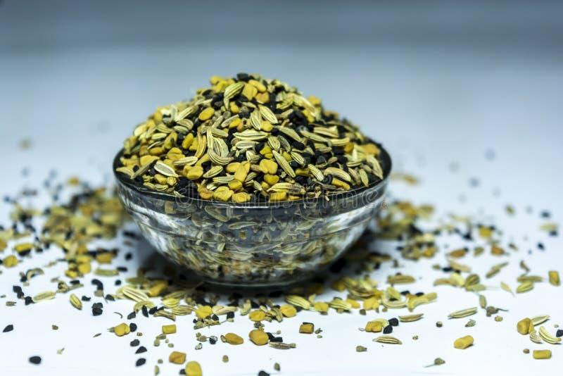 Panch Phoron - смесь 5 индийское SpicesMasala стоковое изображение