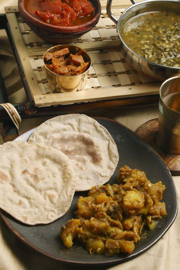 Panch Pooran Tarkaari - grönsakblandning för indier fem. fotografering för bildbyråer