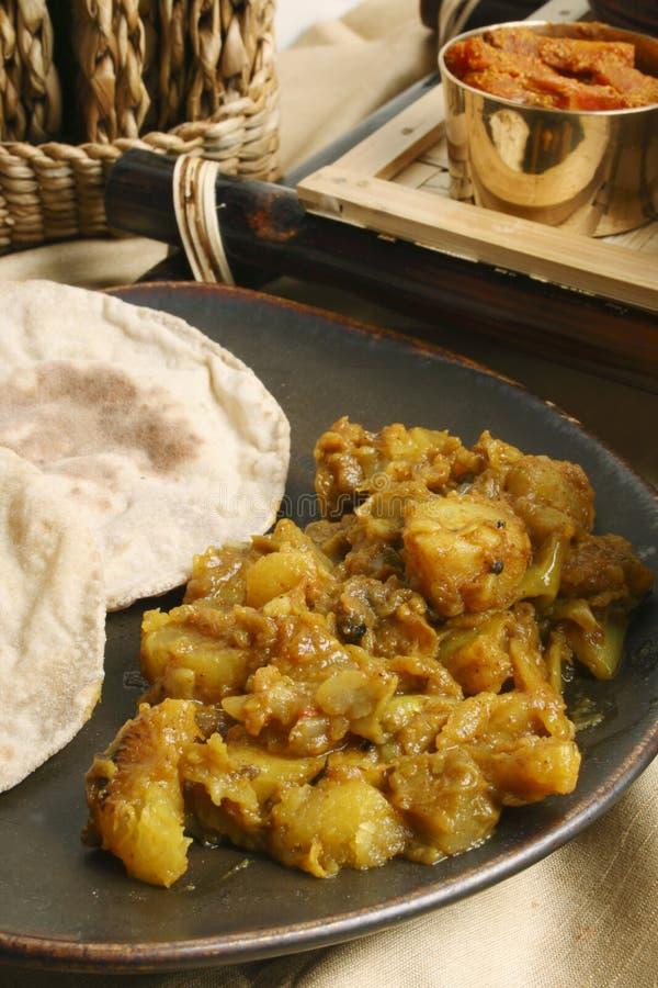 Panch Pooran Tarkaari - kryddablandning för indier fem. royaltyfria foton