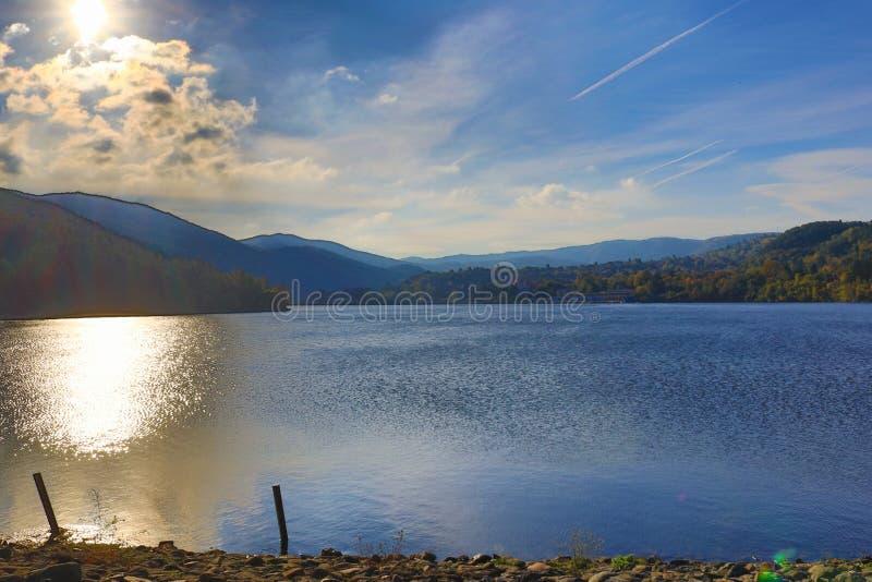 Pancharevo jezioro Bułgaria zdjęcia stock