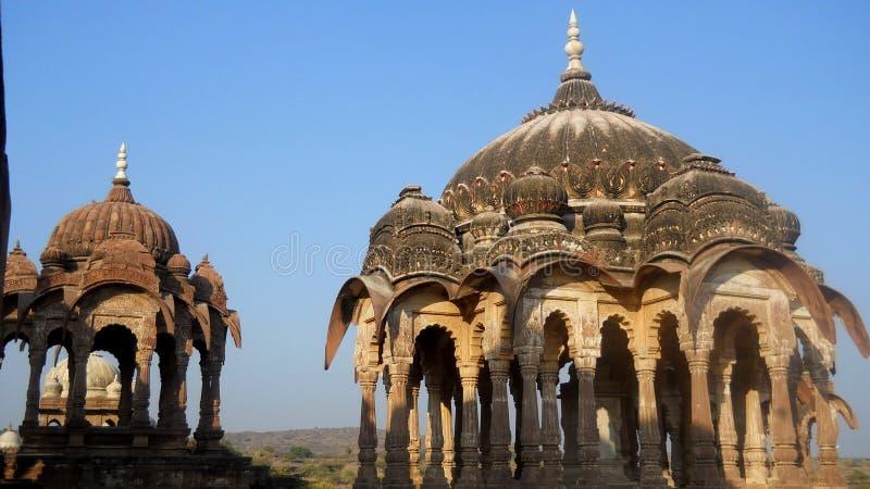 Panchkunda Mandore Jodhpur Rajasthan Indien royaltyfria foton