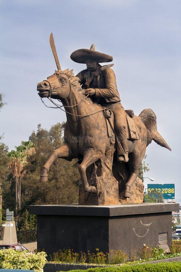 Pancho Villa Cuernavaca Mexico fotografia stock libera da diritti