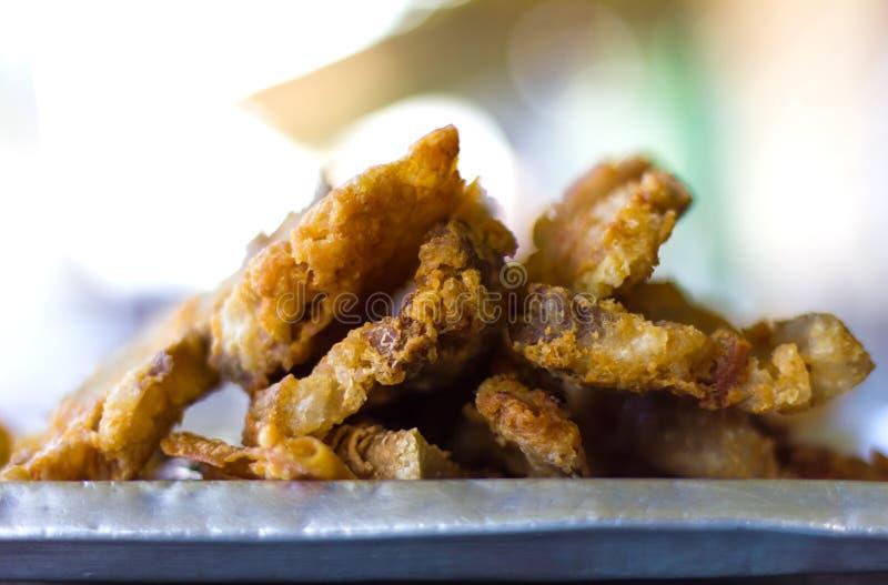 Pancia di carne di maiale croccante fotografia stock