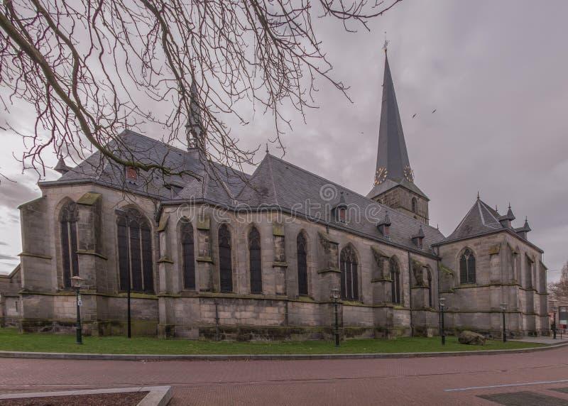 pancratius教会在Haaksbergen 库存照片