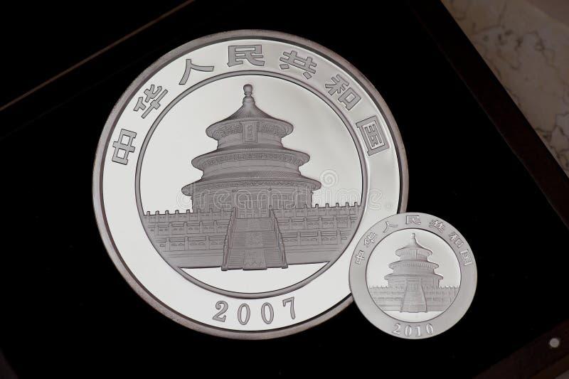 panda νομισμάτων της Κίνας στοκ εικόνες με δικαίωμα ελεύθερης χρήσης