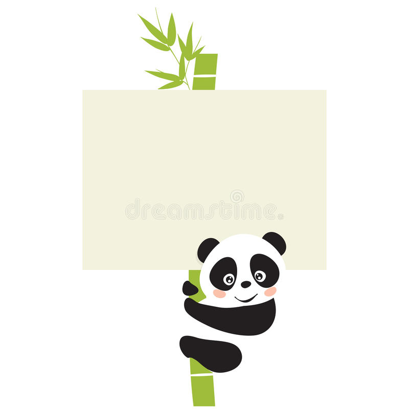 Panda libre illustration