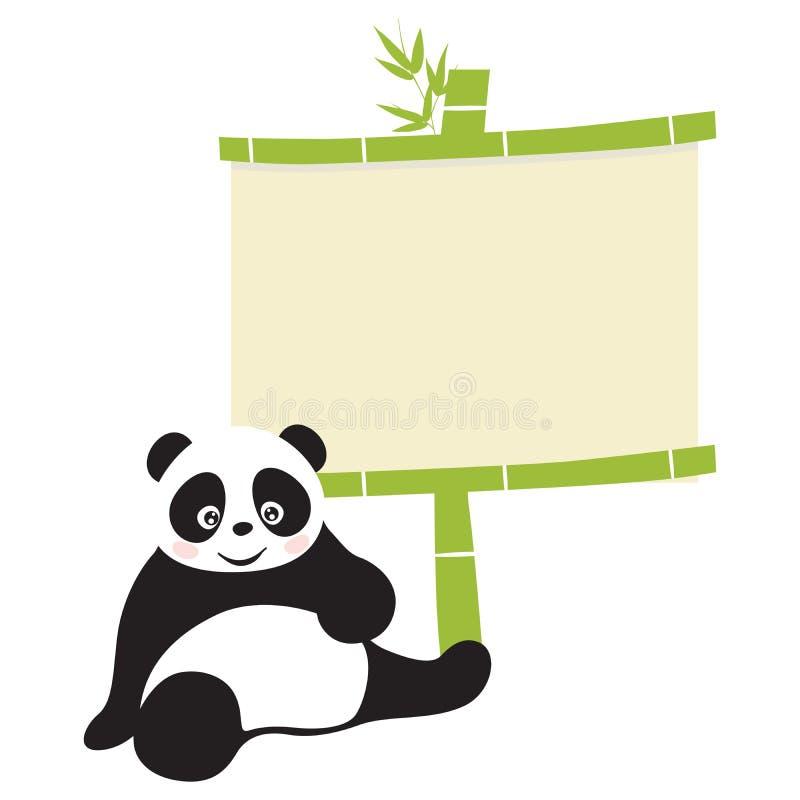 Panda vektor abbildung