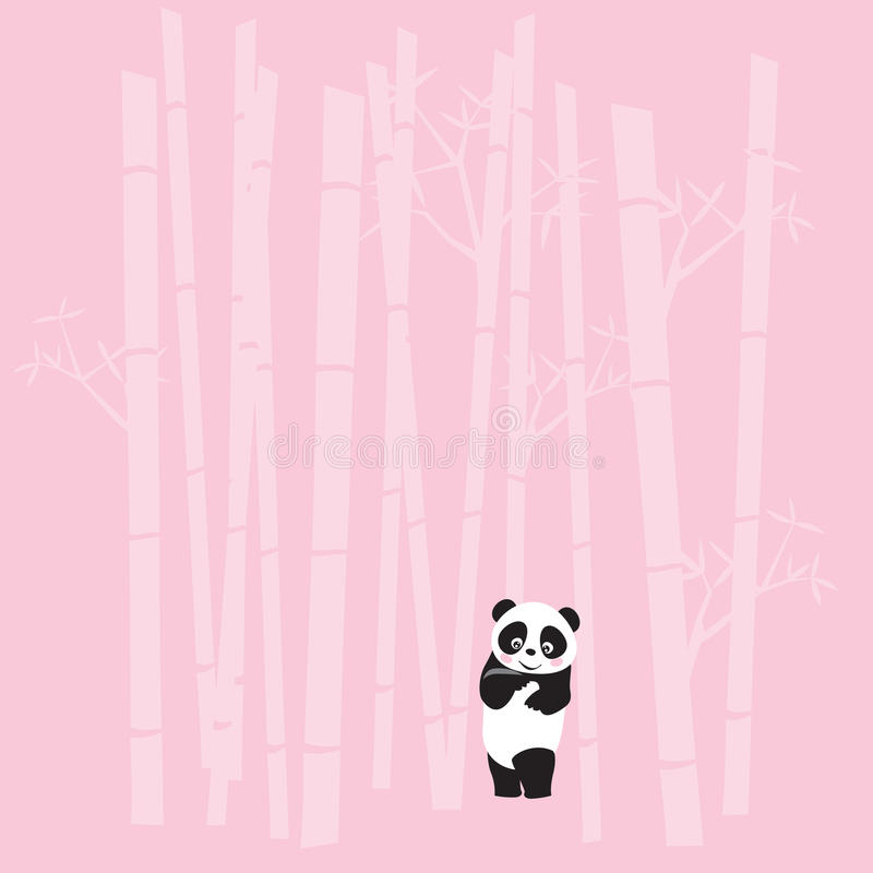 panda stock illustrationer
