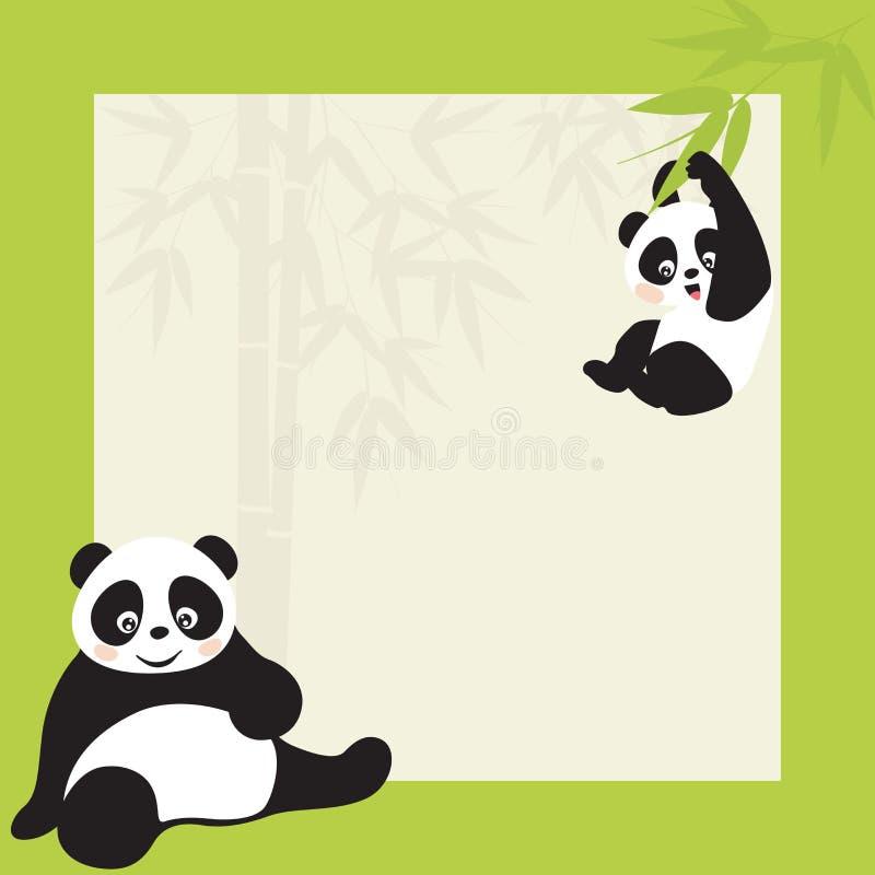 panda ilustracja wektor