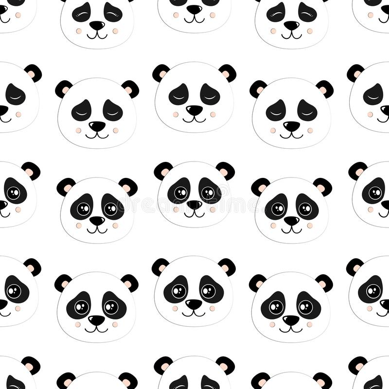 2018 01 05_panda illustration libre de droits