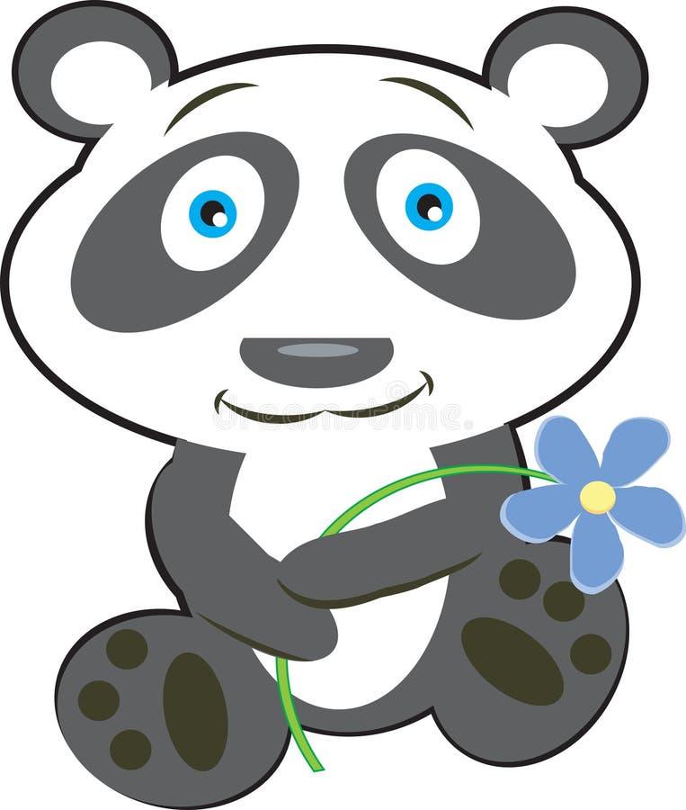Panda ilustração do vetor