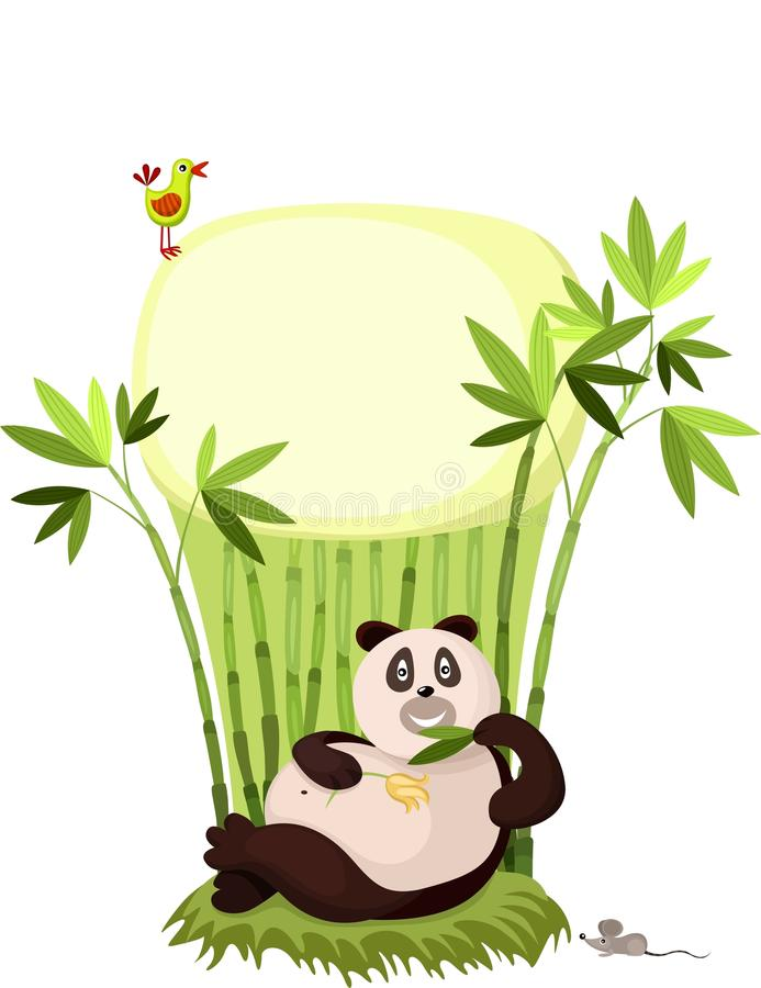 Download Panda stock vector. Image of bear, little, friendly, mouse - 21235416