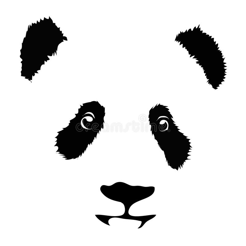 Panda illustration libre de droits