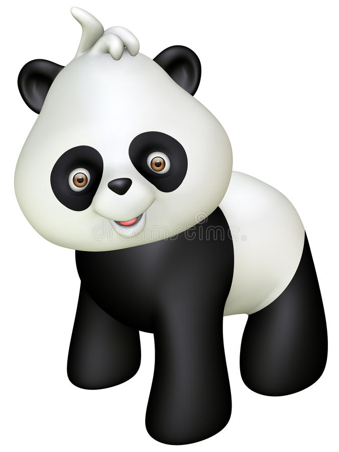 Download Panda stock illustration. Illustration of design, character - 27291095