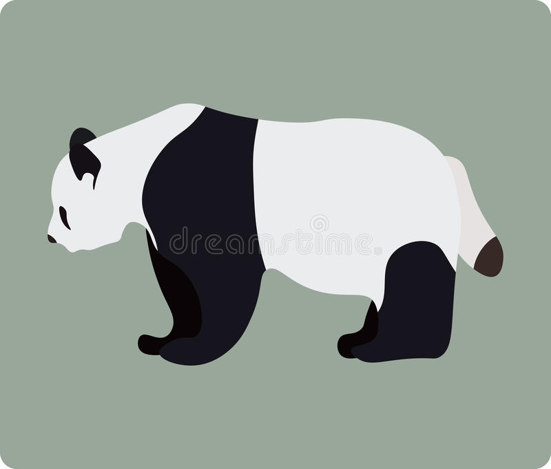 Panda vector illustratie