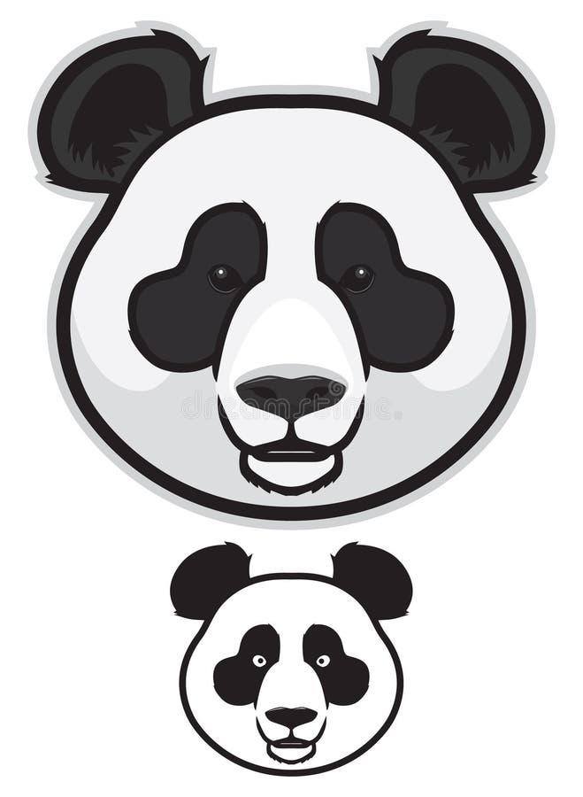 Panda Bear Faces libre illustration