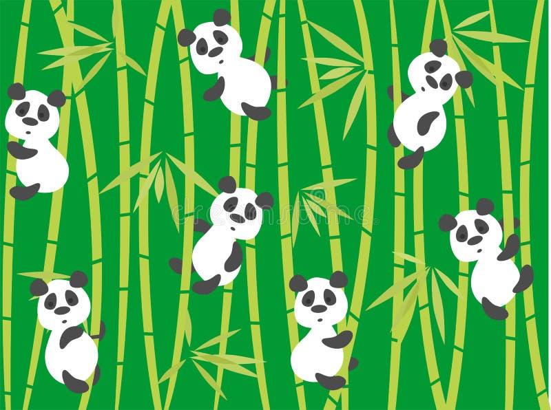 Download Panda bears stock vector. Illustration of forest, design - 22055364