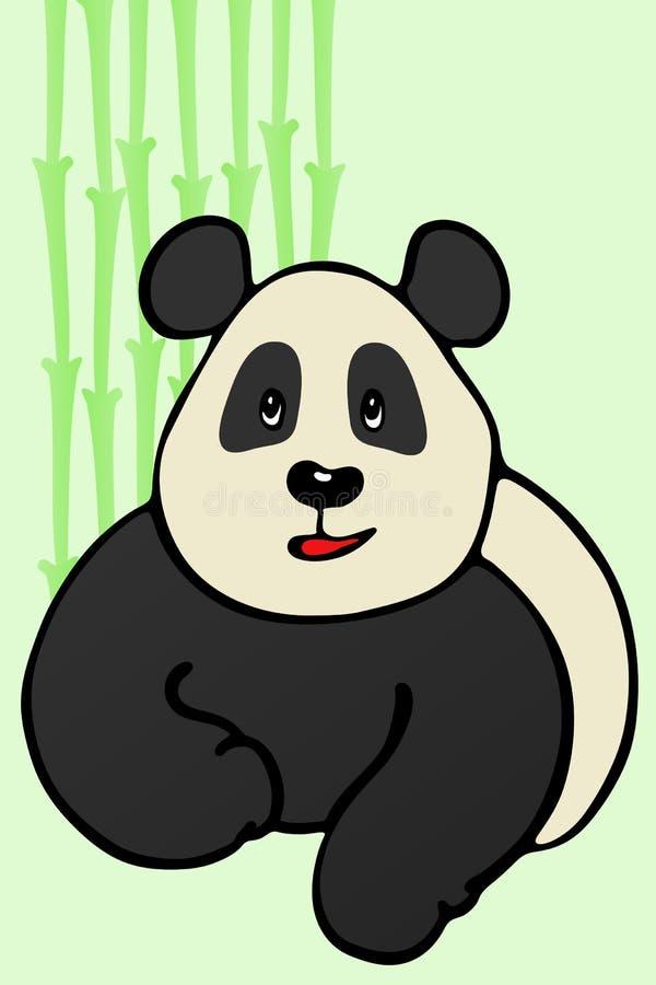 Panda Cub stock de ilustración