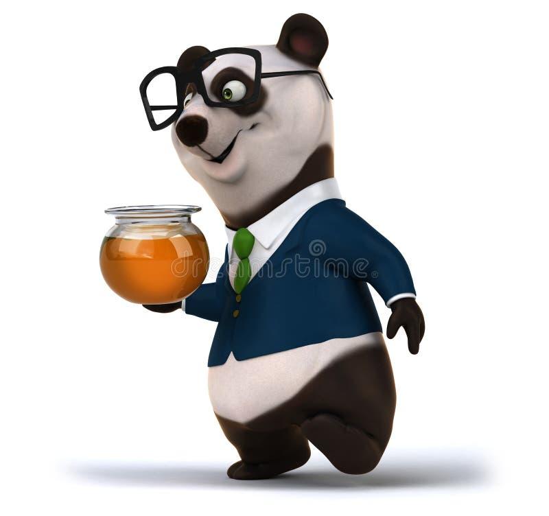 Panda d'amusement illustration libre de droits