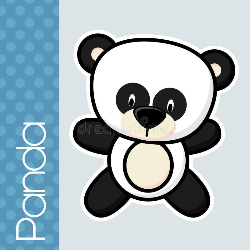 Panda de bébé illustration de vecteur