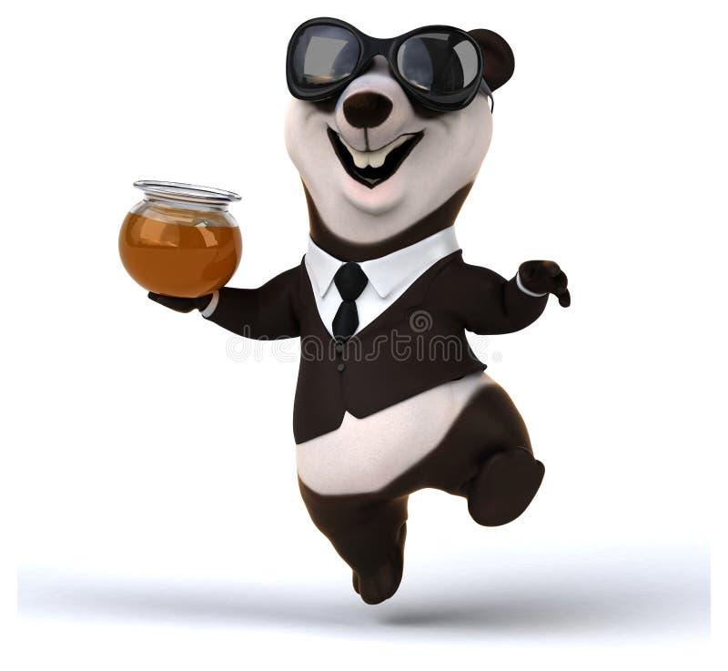 Panda di divertimento royalty illustrazione gratis