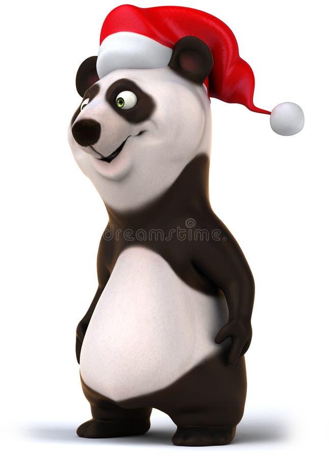 Panda di divertimento illustrazione vettoriale