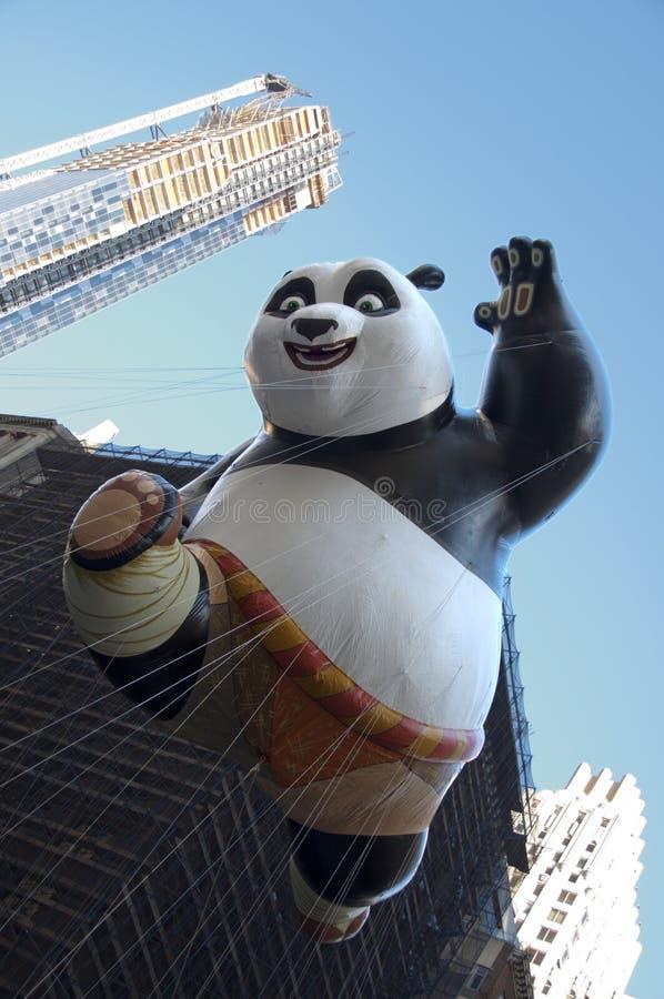 Panda di Kung Fu immagine stock