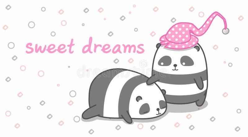 A panda está tranquilizando seu amigo foto de stock