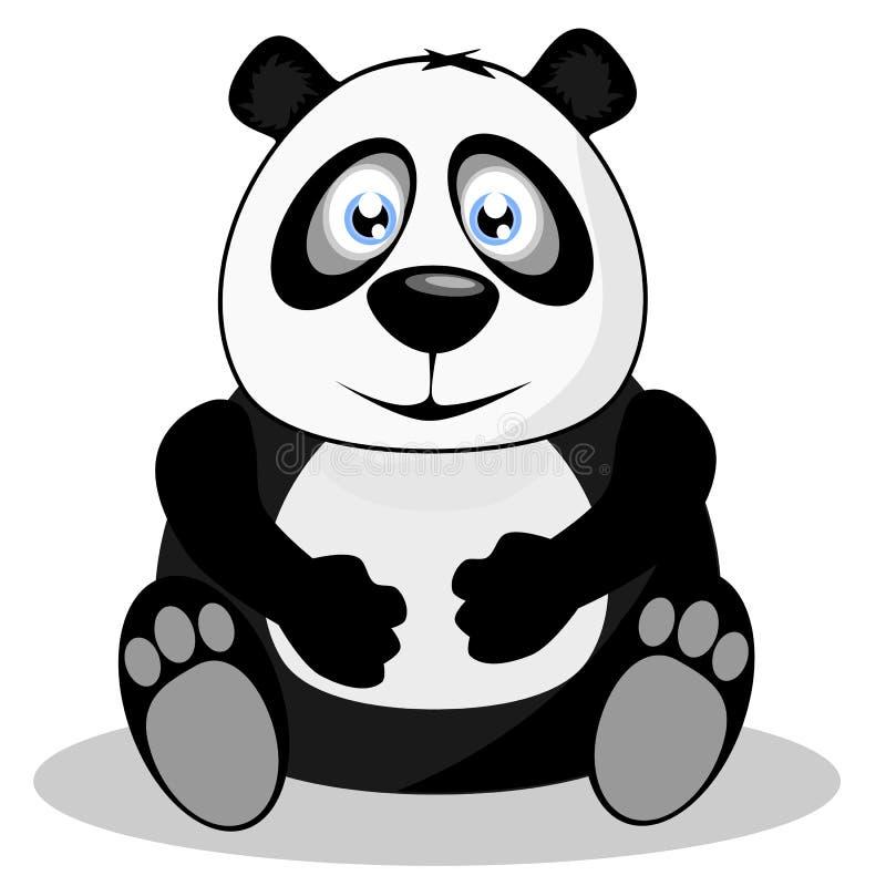Panda gigante ilustração stock