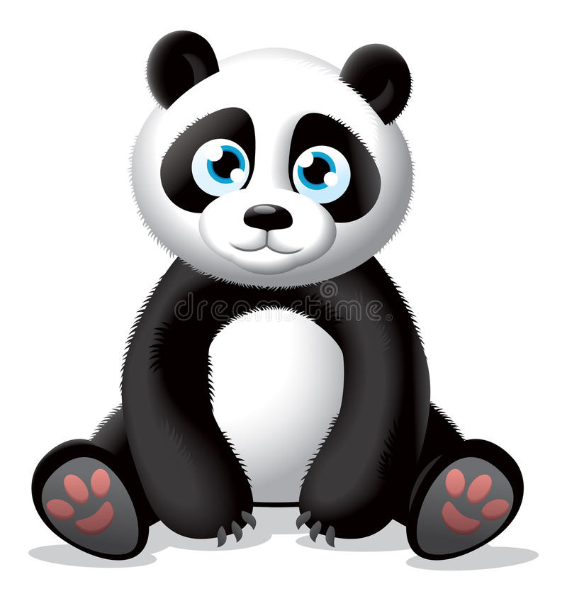 Panda Illustration Royalty Free Stock Image