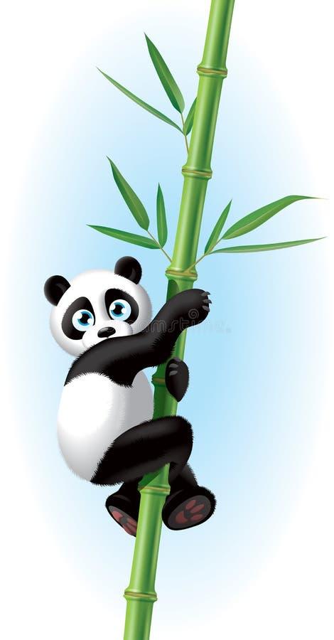 Panda illustration stock images