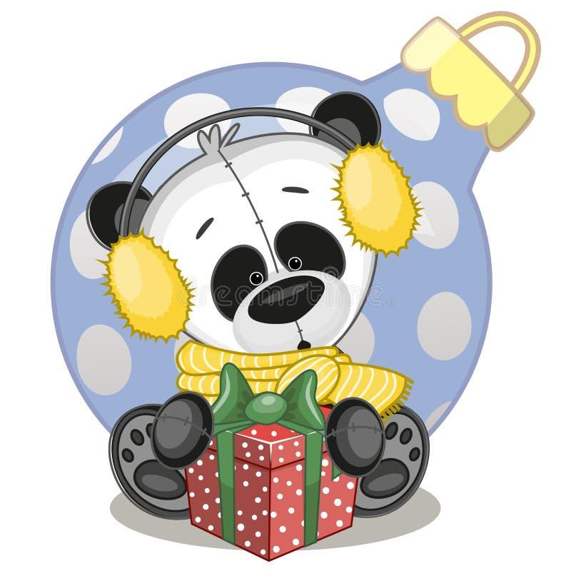 Free Panda In A Fur Headphones Stock Photos - 46924243